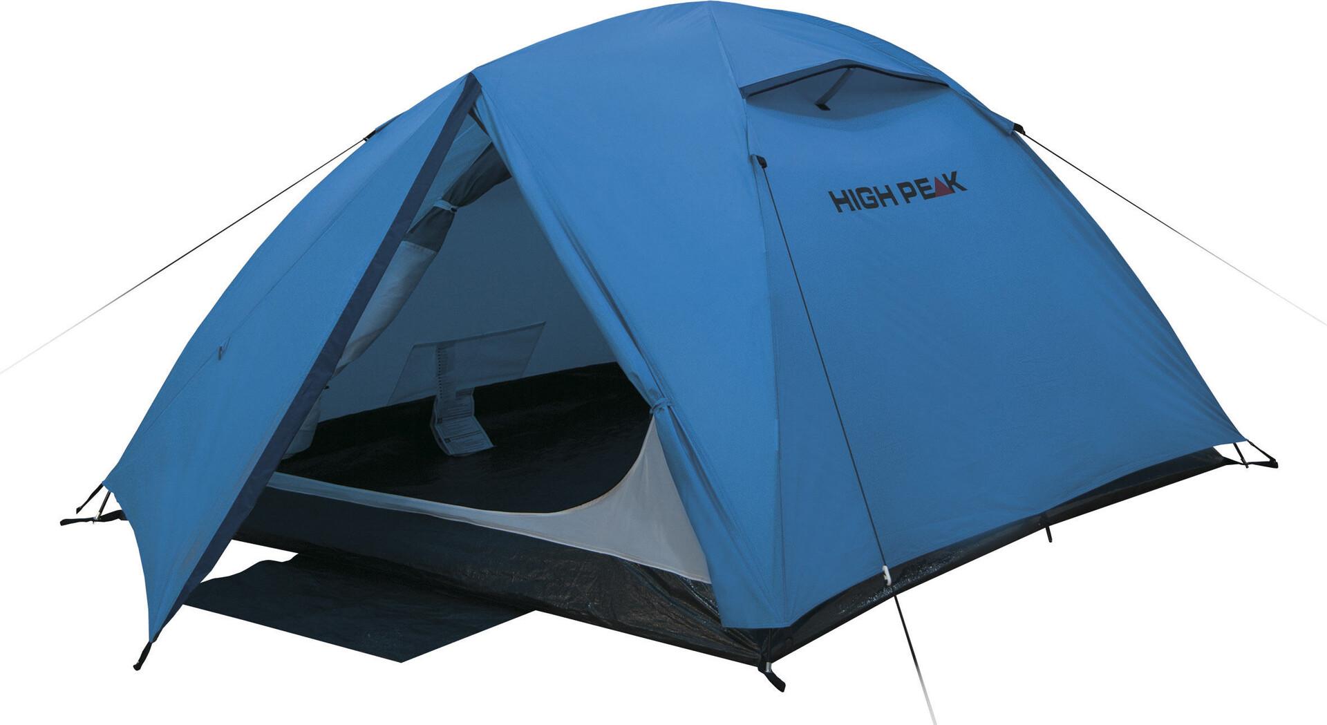 High Peak Kingston Kingston Kingston 3 Tent Blå/Grå 0ec342
